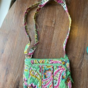 Vera Bradley Crossbody Bag with Built in Wallet